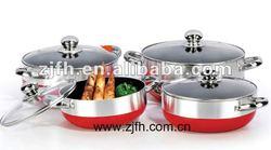 8PCS COOKWARE SET saucepot set dutch oven/ NON-STICK ALS8108