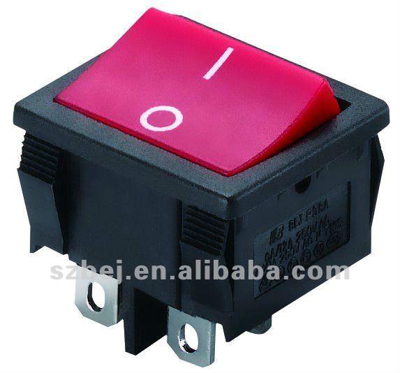 أنواع المفاتيح الكهربائية