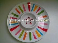 melamine plate own design for x'mas