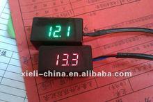 Digital mini DC Voltmeter motorcycle voltmeter,3 wheel motorcycle Voltmeter