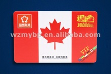 wenzhou PVC visiting card
