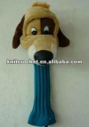 Animal Plush Knit Golf Club Head Cover (KCC-PGCC002)