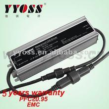 PFC(0.95) EMC 100W 12v smps with CE RoSH