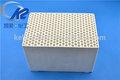 colméia de cerâmica de armazenamento de calor buraco quadrado
