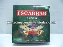 educational toy Spanish language scrabble game