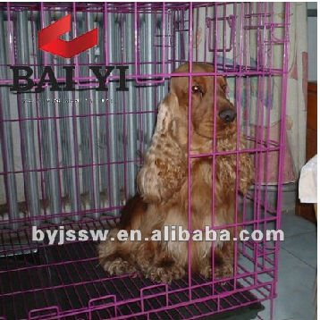 Galvanized Iron Pet Cage For Dogs