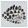 Black silicone rubber parts