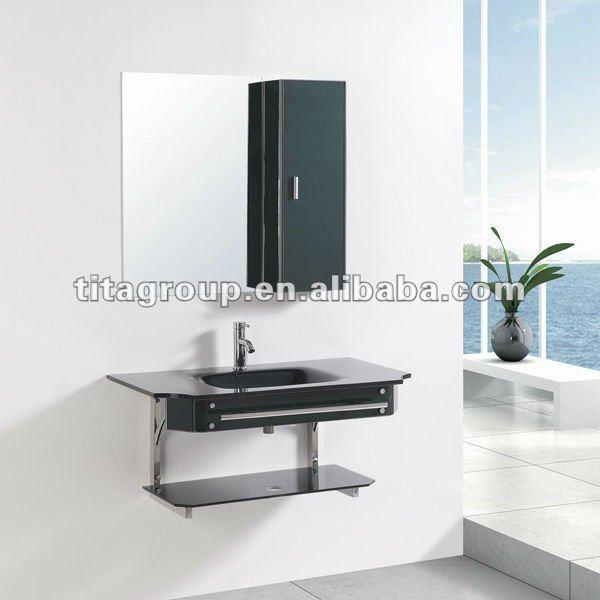 Pia do banheiro de vidro base de gabinete 7048Pias para banheiroID do produ -> Pia Do Banheiro De Vidro