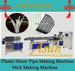Plastic Straw Pipe Making Machine/Stick Making Machine