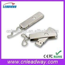 Laser engraving logo metal pen drive key chains
