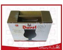 Packaging beer carton with handle