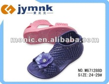 new design of pcu girls sandal