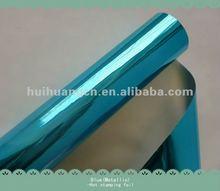 SKY BLUE COLOR FOIL metallci blue hot stamping foil 25inch *120m
