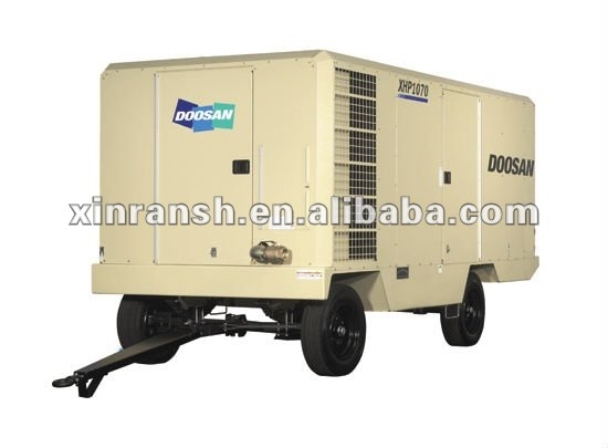 INGERSOLL-RAND Portable Air Compressor,Doosan screw compressor;portable compressor;mobile compressor