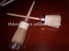 cheap pure bristle round paint brush RPB002