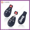 U56 hot PVC car key shpe usb memory drive,silica gel portable usb