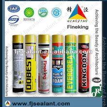 300ml spray waterproof polyurethane foam sealant