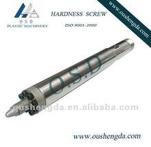 De un solo tornillo de inyección y barril para el moldeo por inyección de plástico de la máquina ( moldeo por inyección tornillo )