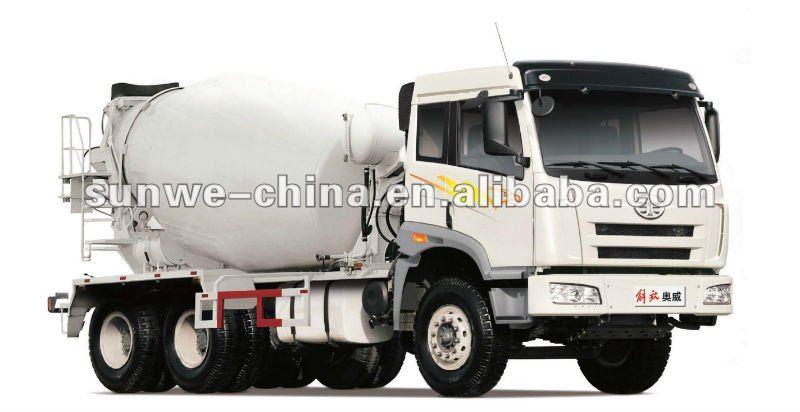 Faw Truck Logo Faw Jiefang Mixer Truck