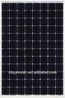 high efficiency BIPV modules 260W 48V mono black solar panel modules