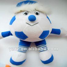 cute plush football toys &football man &football series