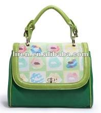 2013 newest High quality funny lady leather handbag