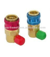 90 degree elbow brass coupler