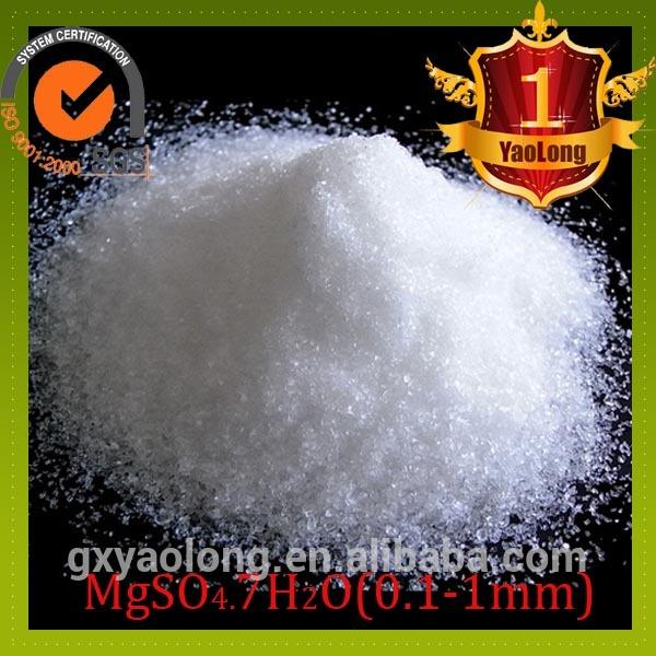 sulfato de magnesio precio