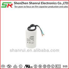 Metallized polypropylene film capacitor air conditioner capacitors cbb60 450v