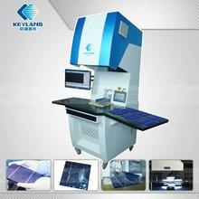 China Wuhan Keyland 10ms 200*200mm PLC Sun Simulator Solar Panel Testing Equipment