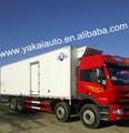 Seco de carga de camiones de caja de camioneta, jiefang camión refrigerador y del cuerpo del carro,