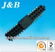 2.54mm,smt, FCI alternative electronic connector with plastic cap