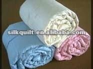 machine made silk quilt