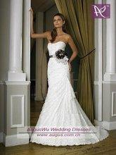 AWM-106 Charming Strapless Lace Mermaid Bride Wedding Dresses