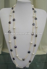 2012 fashion jewelry fresh water pearl necklace