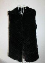 6271 Genuine Mink Fur Vests OEM Wholesale/Retail