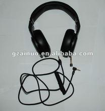 2012 high quality metal headphone, metal headset