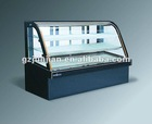 Marble Double Arc Cake Display Cabinet Chiller, Pastry Cooler Showcase