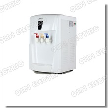 2012 new design hot cold water machine/ desktop water cooler with compressor