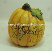 Ceramic pumpkin/Happy harvest
