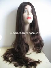 100% European virgin human hair jewish wig kosher wig