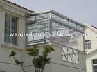 Aluminum sunroom windows