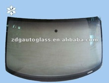 auto glass with wooden crate packing