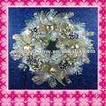 La decoración de la navidad corona& guirnalda