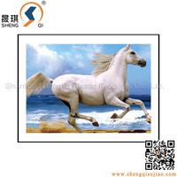 New designs 3D lenticular horse series picture
