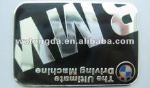 Aluminum Nameplate/Label for car