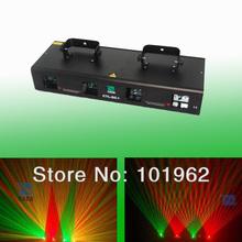 Dj dmx lighting 4lens Red+Green disco laser for light show