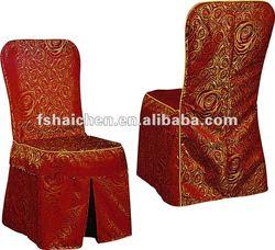 YC-880 Nice design jacquard chair cover