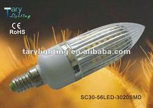 3W 3528SMD E14 high power led bulb led corn light