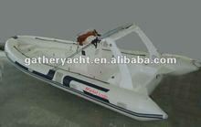 23ft RIB boat ,1.2mm PVC Inflatable//RIB boat , 10person Sport boat